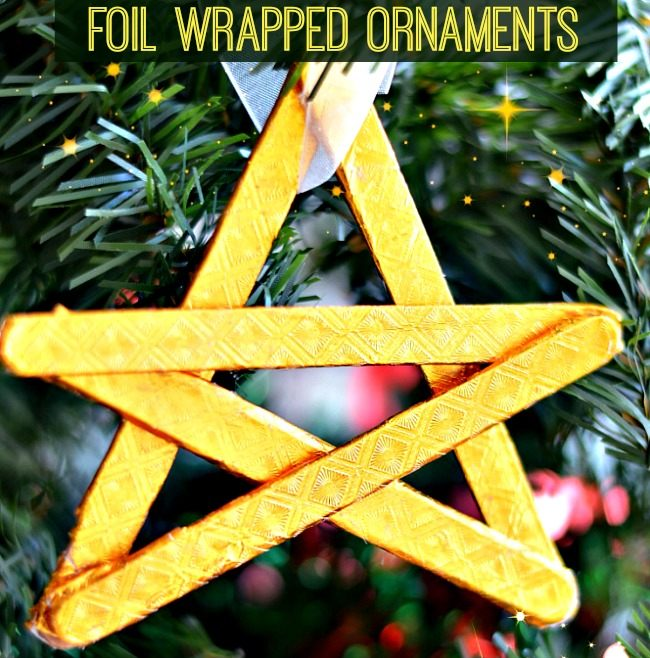 homemade christmas ornaments by kids