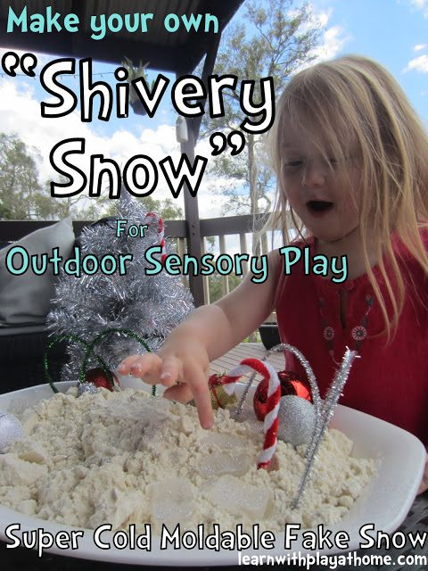 shivery snow