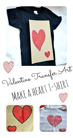 Valentine Gifts  Transfer Art