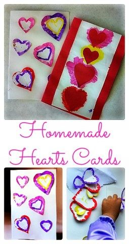 Valentine'day cards kids can make