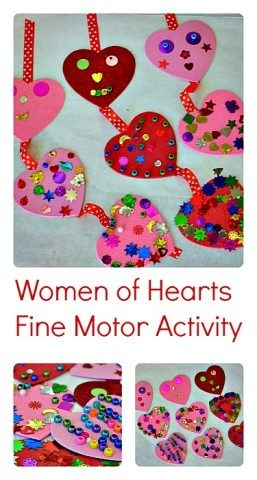 Valentines Day Fine Motor Activity
