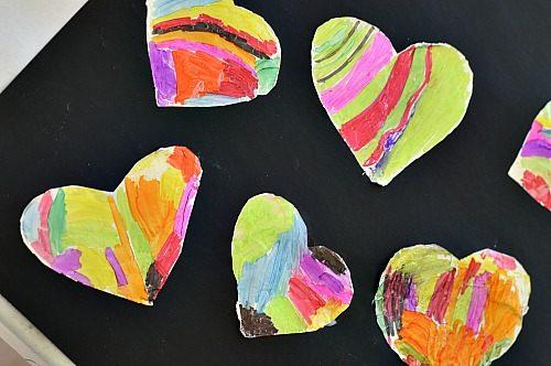 Valentines day art activities for kids