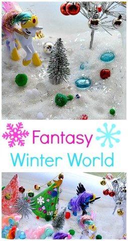 Winter small world