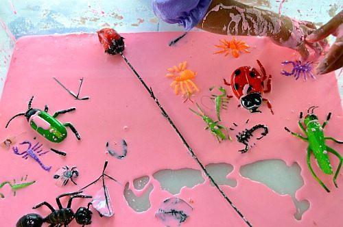 bugs in rose goop much