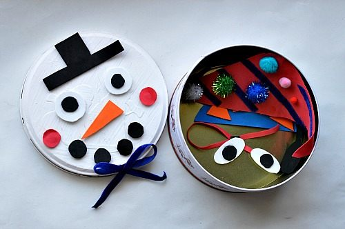 cookie tin snowman craft for kids(2)
