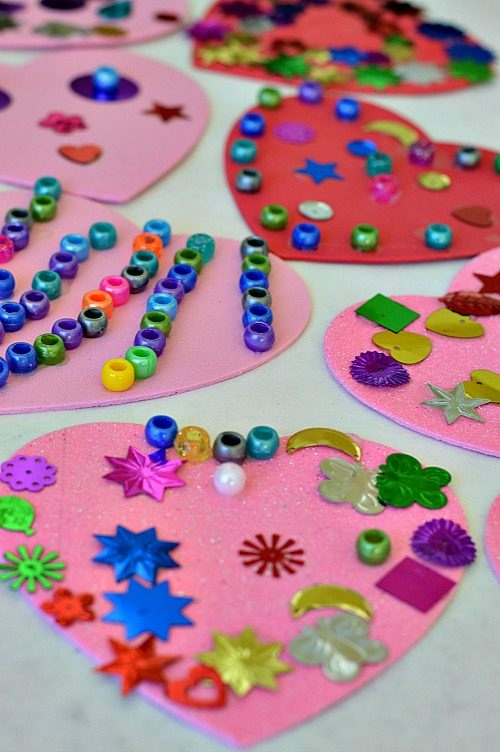 Valentine S Day Activities Hearts Mobile Fun Littles