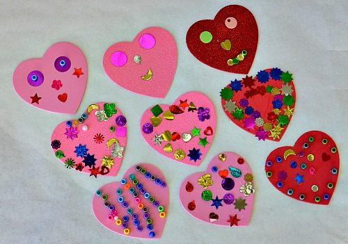 hearts crafts