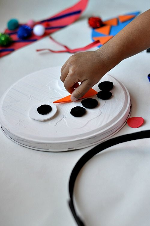 magnetic snowman craft (2)