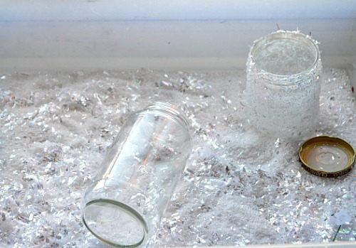 snow jars materials