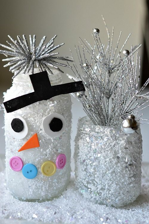 snow jars snow man
