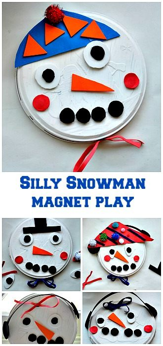 snowmancrafts for kids from Blog Me Mom