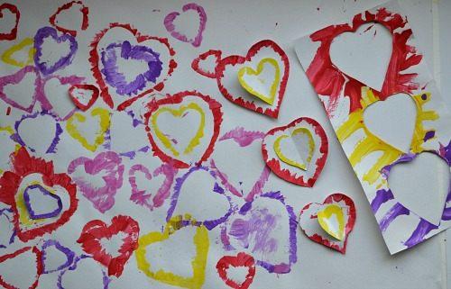 stencils art for valentines day
