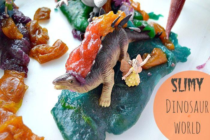 edible slime recipe dino world