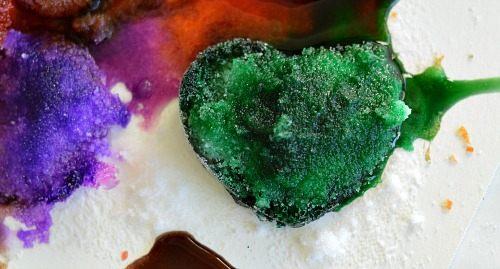crunch salt ice heart