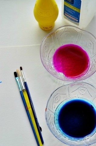 materials for watercolor projects