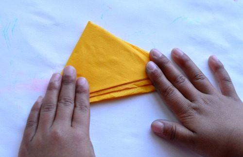 triangle folding