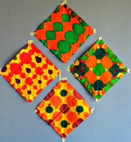 wall art tissue paper