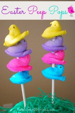 Easter Peep Pops
