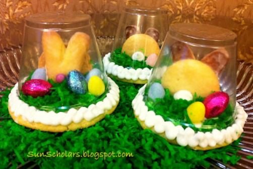 Easter Sugar Cookie Globe