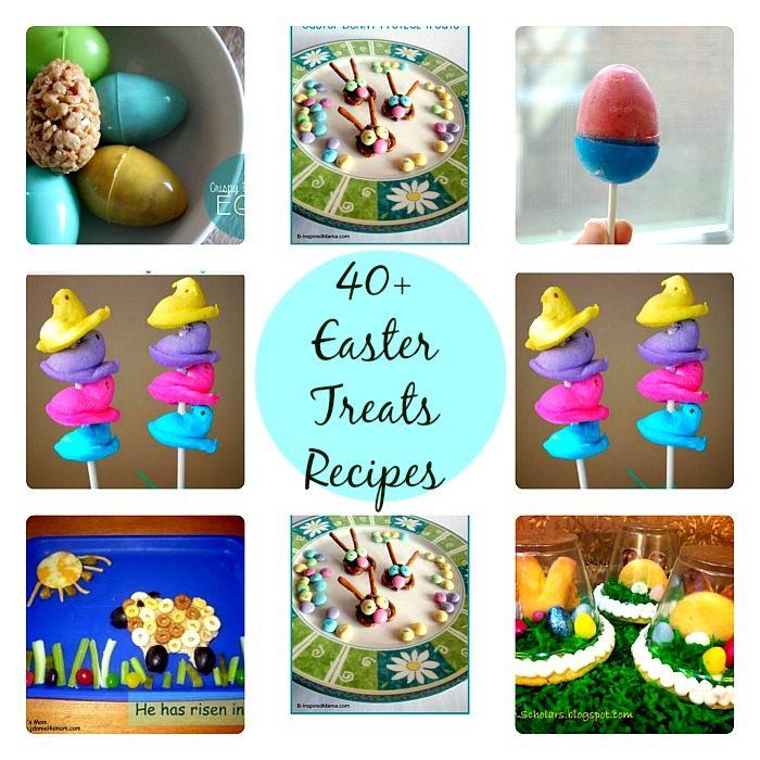 Easter Treats RecipesBlog Me Mom