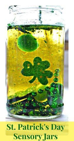 Sensory Jars  St.Patrick's Day Theme