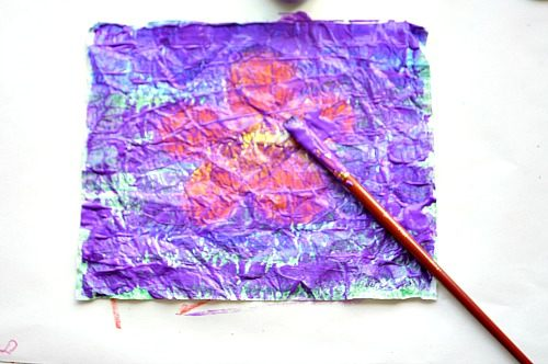 art activities with cracked