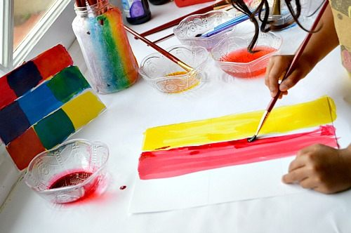 art projects with colors