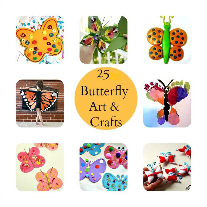 butterfly crafts for kids - blog me mom