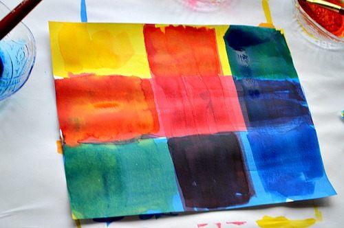 color grids for kids