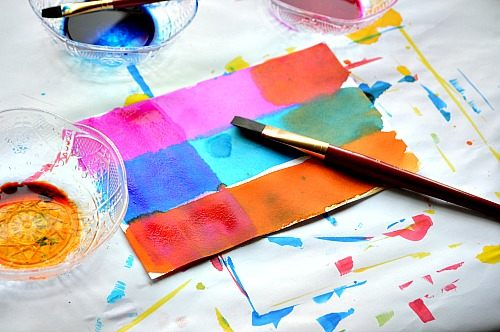 colorful art projects for kids