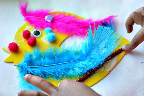 decorating birds fine motor spring crafts for kids