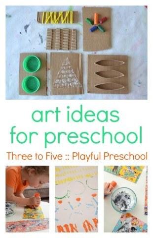 Art for preschool