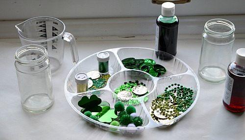 materials for sensory jars