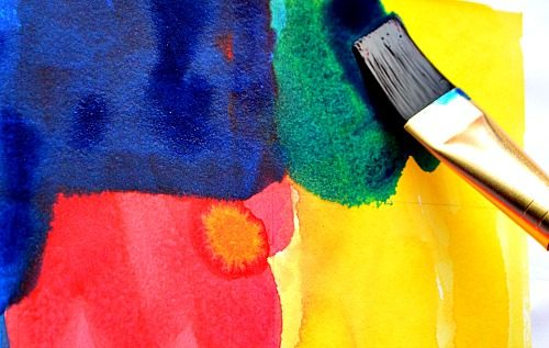mixing colors for kids