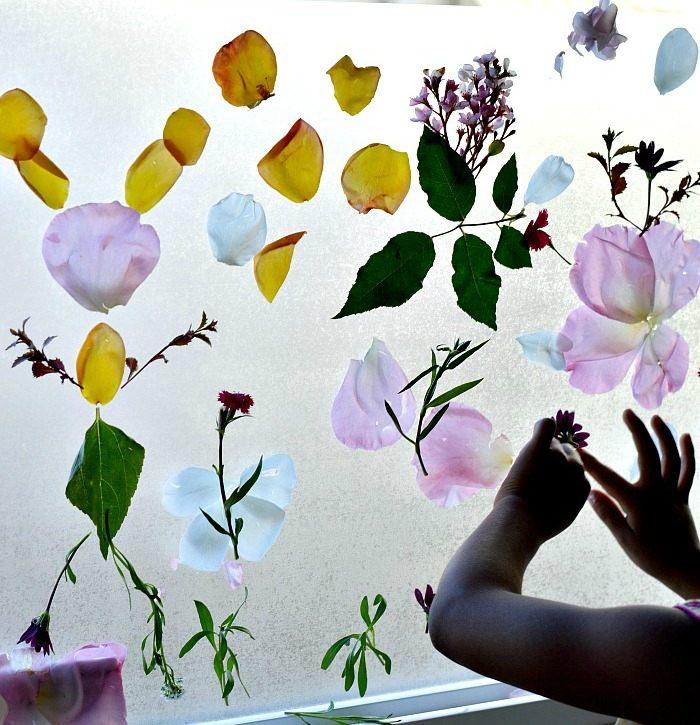 Featured 5 Spring Projects: Spring Activities For Kids : Sticky Garden