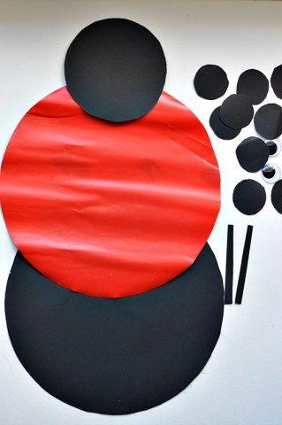 materials for ladybug craft