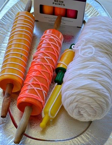 materials need for yarn printing