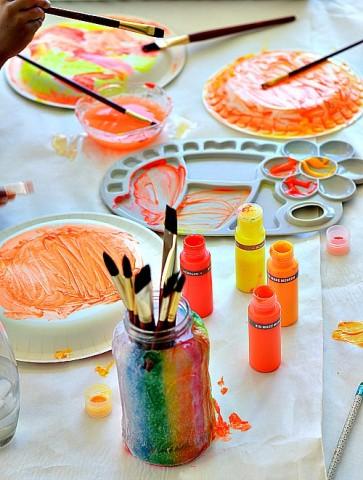 painting sundials