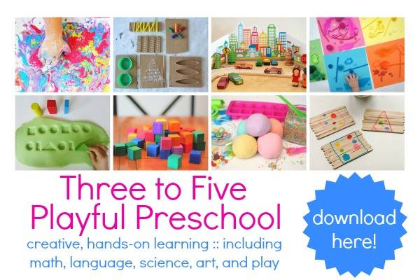 preschool play book