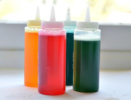 Colored Vinegar