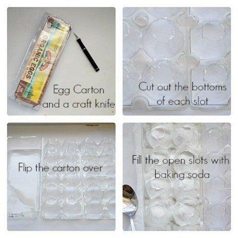 Egg Carton Volcanoes