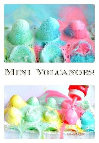 Mini Volcanoes