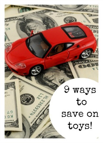 9 ways to save on toys