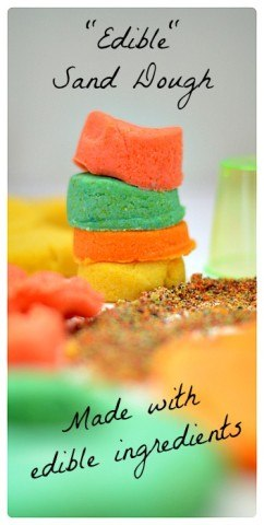 Edible San Dough Recipe from Blog Me MOM