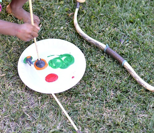 art projects for kids with arrows and bow
