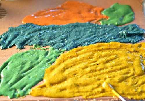 homemade sandy puffy paint recipe