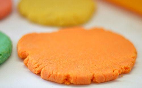 orange sand dough