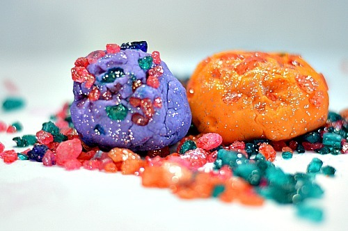 playdough recipe with edible crystals for play