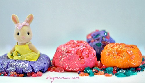 recipe for playdough with crystals