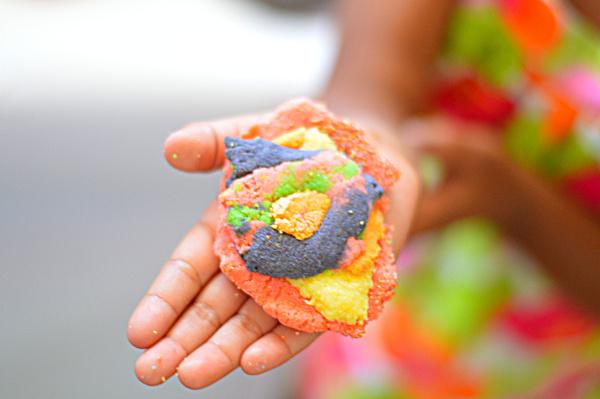 sand dough for kids recipe